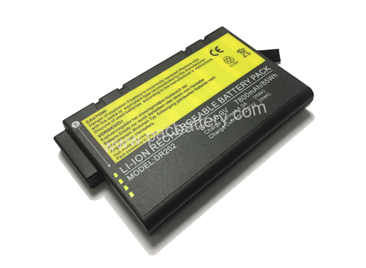 DR202 11.1V 10200mAh 113Wh Li ion Rechargeable battery for medical cart, using 3400mAh cell