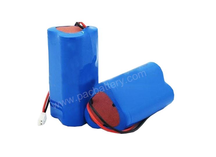 batterie légère d'urgence, li-ion batterie rechargeable 2200mAh 3S1P 11.1Volt