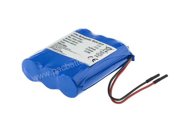 IEC62133, UN38.3 certified rechargeable lithium ion battery 2600mAh 11.1V