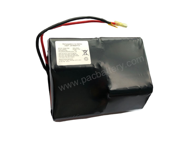Electric Vehicle Battery, 14S2P 51.8V 5Ah Rechargeable lithium battery pack made of Sony VTC5 cells