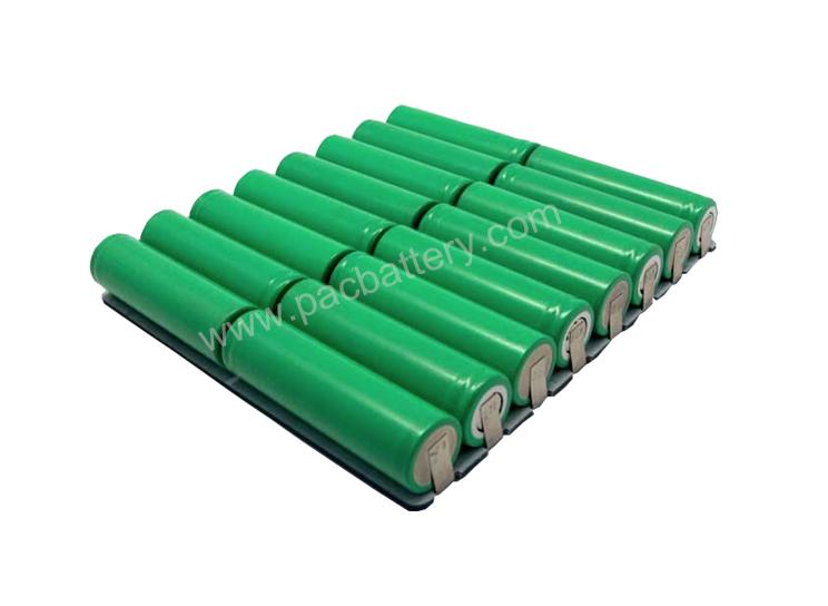 rechargeable ion li 2s8p 18650 7.4V 17600mah