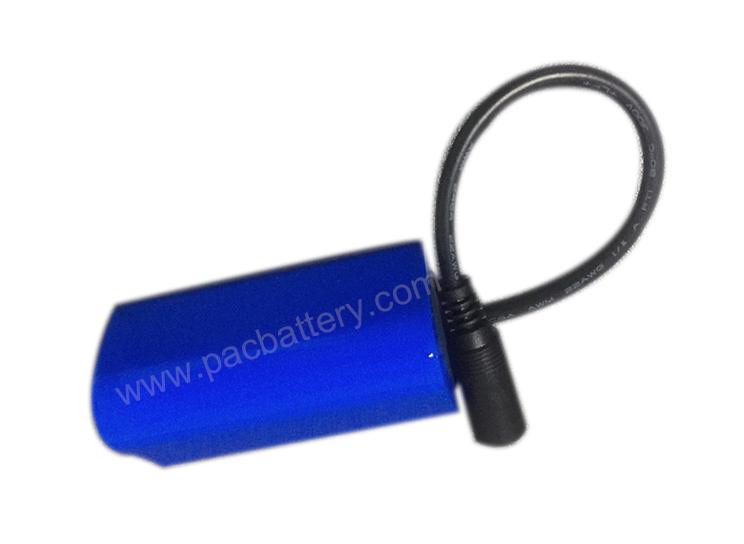 11.1V 2200mAh 3S1P 2C cylindrique 18650 Batterie Pack pour Sweeper automatique