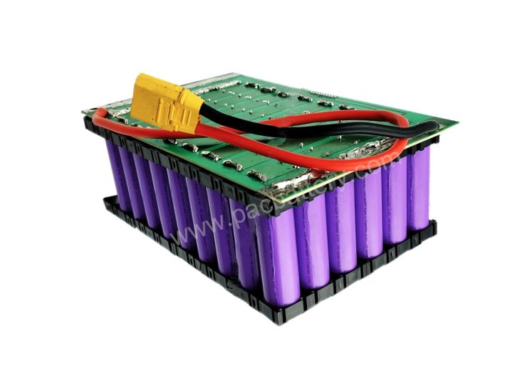 13S4P 48V 10Ah batterie rechargeable au lithium-ion