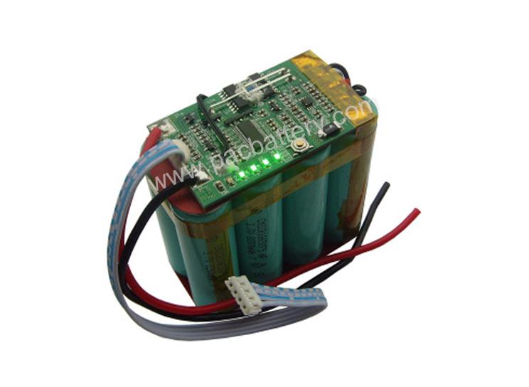 rechargeable 18650 lithium li batterie à ion 4S2P 14.8V 5200mAh