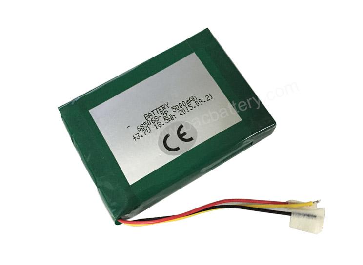 CE Approval Li-polymer Rechargeable Battery 3.7V 685068 2P 5000mAh
