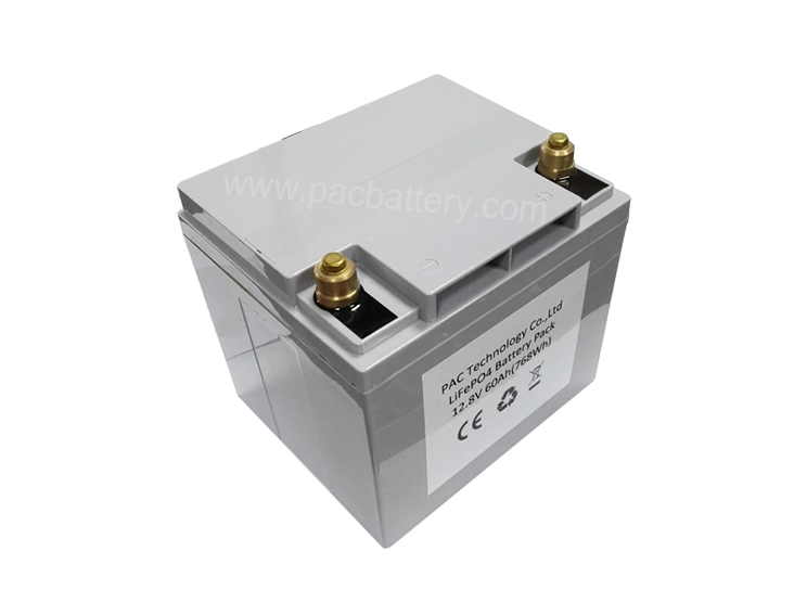 Storage batteries Lifepo4 lithium battery12v 55Ah 60Ah for electric golf cart, parking machine