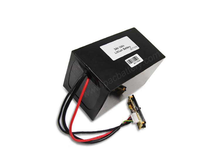 MSDS zertifiziert 14.8v Lithium-Akku 18650 4S7P mit schwarzem Rohr