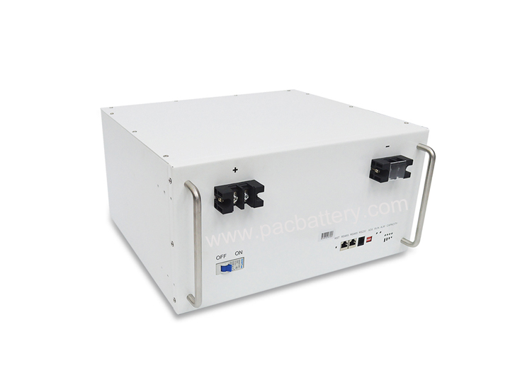 Reliable 48v lithium iron phosphate battery pack 100Ah for communication station energy storage system