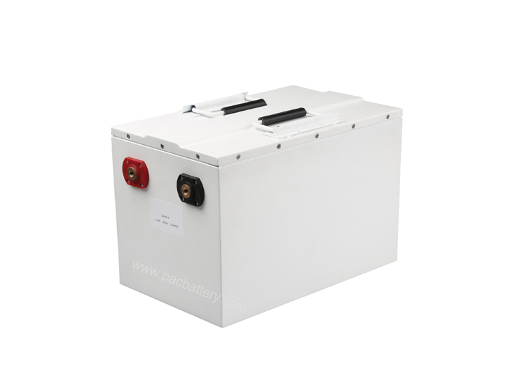 2.5kwh Lithium iron phosphate battery 48v 50Ah with hardware BMS for SLA replacement