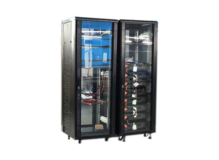 38kw alto voltaje 384v bastidor LiFePO4 módulo de batería de 100 Ah para aplicaciones de almacenamiento residenciales