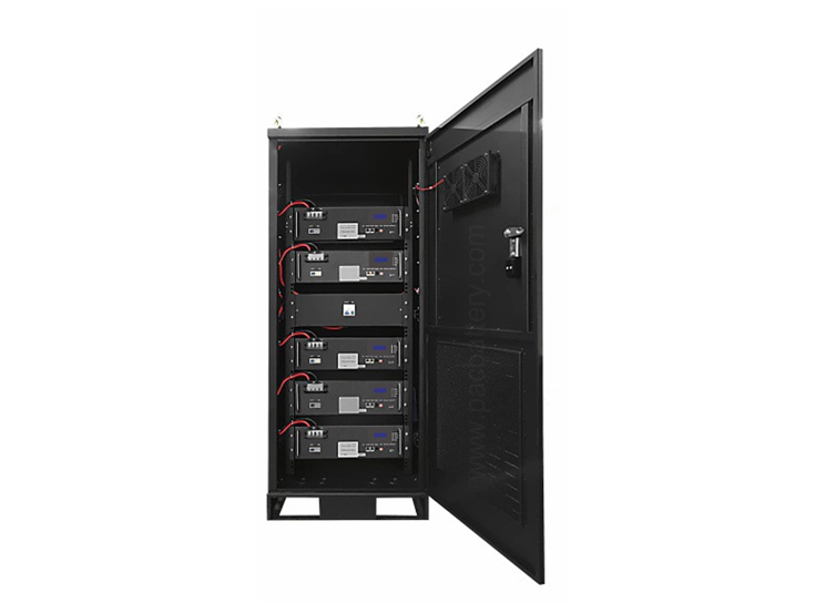 48v 450Ah 22kW maison pack LiFePO4 système de batterie ESS avec Intergrated BMS pour la base de télécommunications