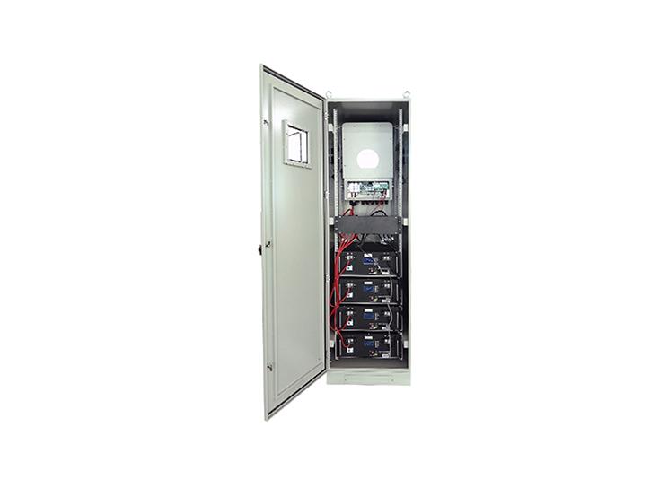 Almacenamiento de litio de respaldo de batería solar 40kwh 8kW 220V salida todo en un sistema