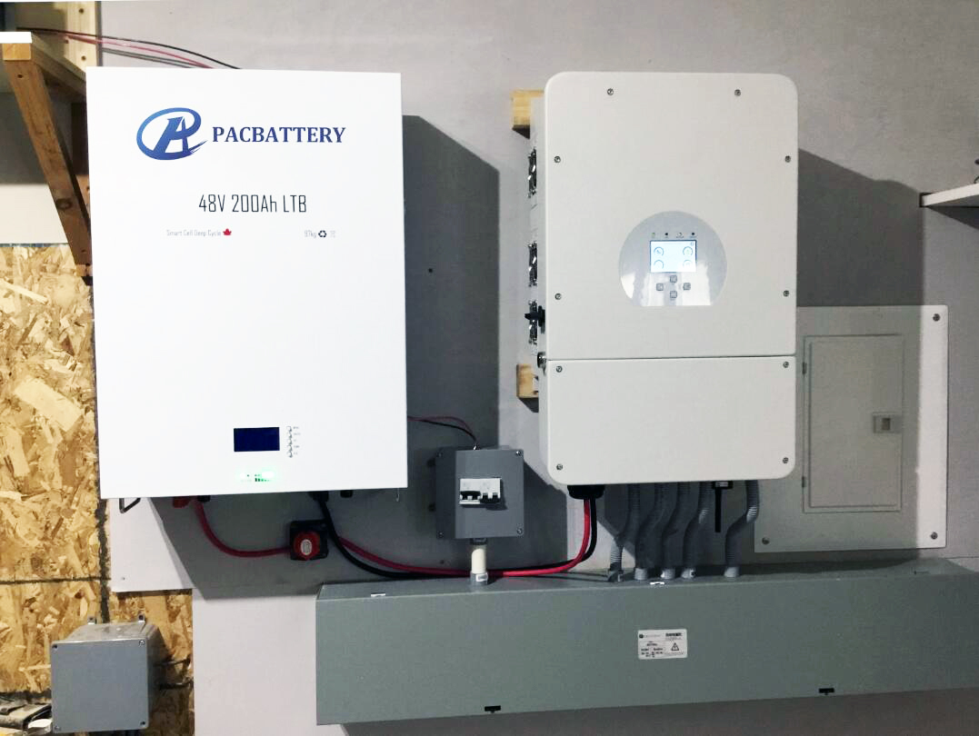 PAC 10kwh 48v 200ah Solarwall литиевая батарея lifepo4 8kva инвертор для солнечной гибридной сетевой системы