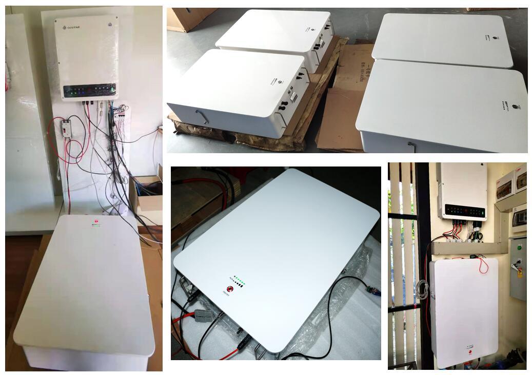 Batterie PAC 400V Powerwall 12kwh avec onduleur haute tension GoodWe pour le stockage d'énergie résidentiel en Thaïlande