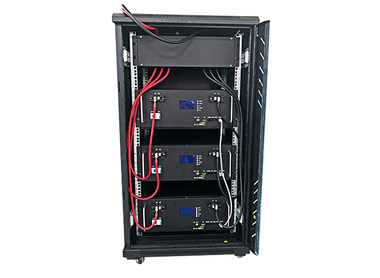 48v 450Ah Solar storage lithium battery rack mounted for power supply on islands