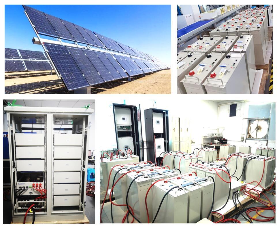 Proyecto comercial de batería de almacenamiento solar PAC 80kWh con paneles solares de 50kW en Indonesia
