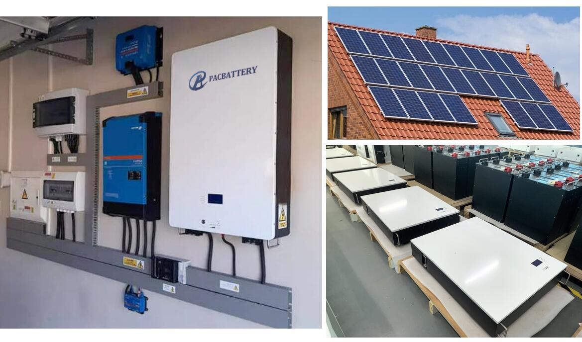 Аккумуляторная батарея PAC 10kwh powerwall 51.2V 200ah lifepo4 для гибридной солнечной системы с инвертором Victron