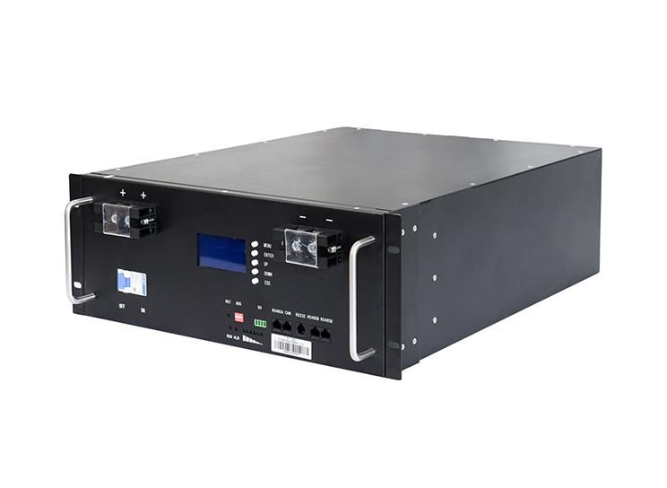 Batterie de secours en rack pour la maison 48v 100Ah 150Ah 200Ah module de stockage solaire au lithium LiFePO4